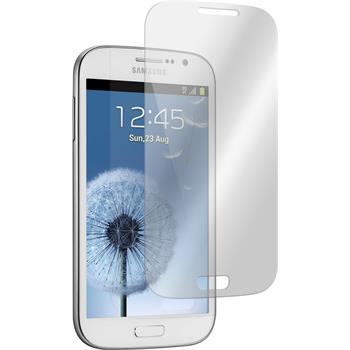 2x Galaxy Grand klar Glasfolie