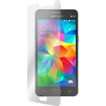 2x Galaxy Grand Prime klar Glasfolie