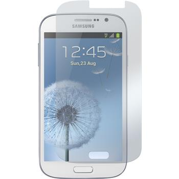 2 x Galaxy Grand Schutzfolie matt