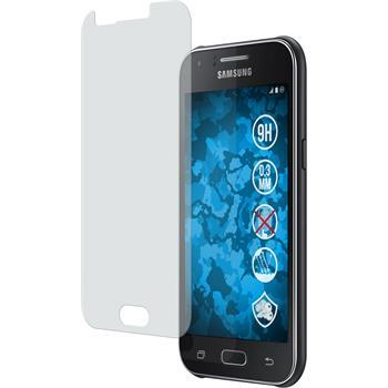 2 x Samsung Galaxy J1 Protection Film Tempered Glass Anti-Glare