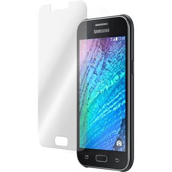 2 x Samsung Galaxy J1 Protection Film Tempered Glass Clear