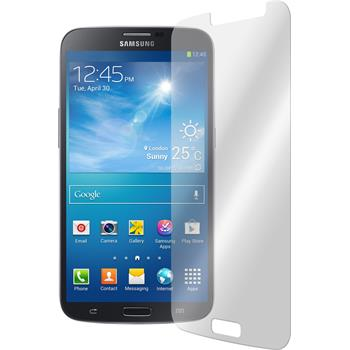 2x Galaxy Mega 6.3 klar Glasfolie