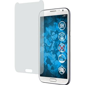 2 x Samsung Galaxy Note 2 Protection Film Tempered Glass Anti-Glare