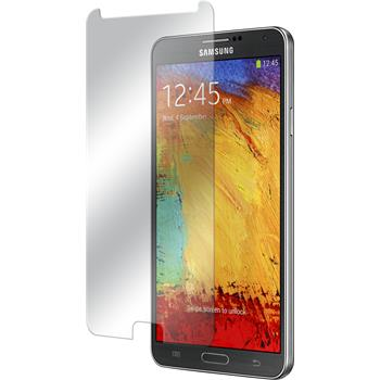 2x Galaxy Note 3 klar Glasfolie