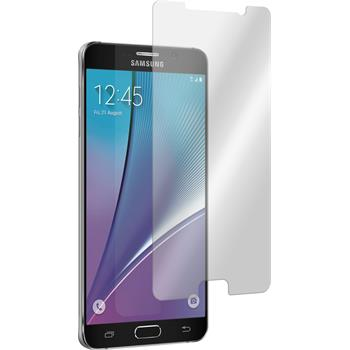 2x Galaxy Note 5 klar Glasfolie