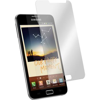 2x Galaxy Note klar Glasfolie