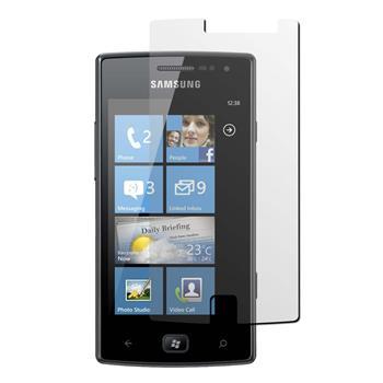 2 x Samsung Galaxy Omnia W Displayschutzfolie klar