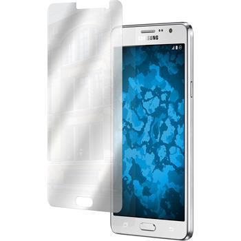 2 x Samsung Galaxy On7 Displayschutzfolie verspiegelt