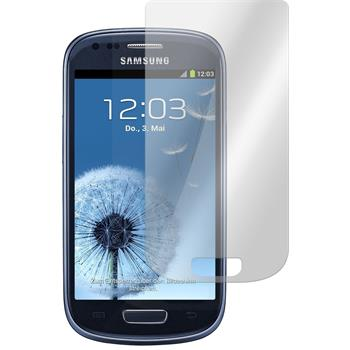 2x Galaxy S3 Mini klar Glasfolie