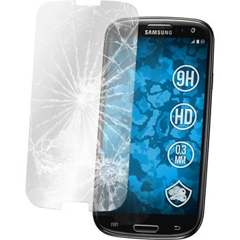 2 x Samsung Galaxy S3 Neo Protection Film Tempered Glass Clear