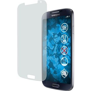 2 x Samsung Galaxy S4 Protection Film Tempered Glass Anti-Glare