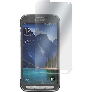 2 x Galaxy S5 Active Schutzfolie matt