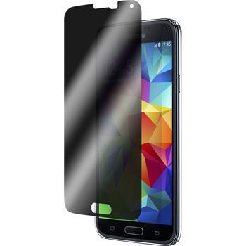 2x Galaxy S5 Privacy Glasfolie