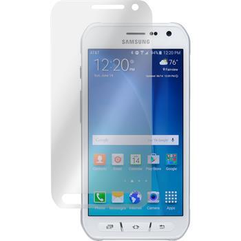 2 x Samsung Galaxy S6 Active Displayschutzfolie matt