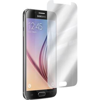 2 x Galaxy S6 Schutzfolie verspiegelt
