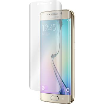 2 x Samsung Galaxy S6 Edge Protection Film Clear