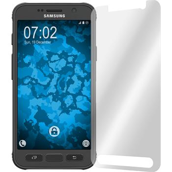 2 x Galaxy S7 Active Schutzfolie klar