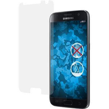 2 x Galaxy S7 Schutzfolie matt