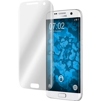 2 x Galaxy S7 Edge Schutzfolie klar curved