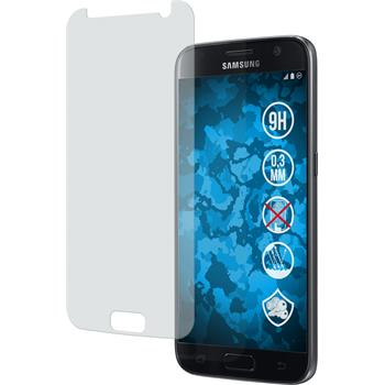 2 x Samsung Galaxy S7 Protection Film Tempered Glass Anti-Glare