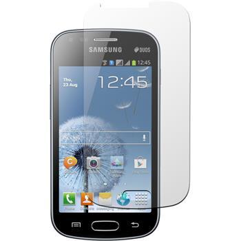 2 x Galaxy S Duos Schutzfolie matt