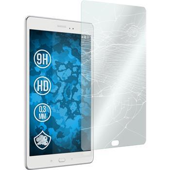 2x Galaxy Tab A 9.7 klar Glasfolie