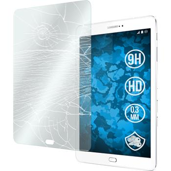 2x Galaxy Tab S2 9.7 klar Glasfolie