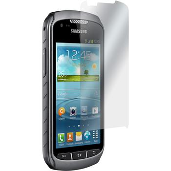 2 x Samsung Galaxy Xcover 2 Protection Film Anti-Glare