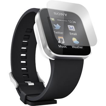 2 x Sony Smartwatch Displayschutzfolie klar