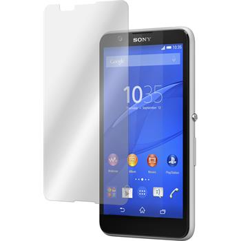 2 x Sony Xperia E4 Protection Film Tempered Glass Clear
