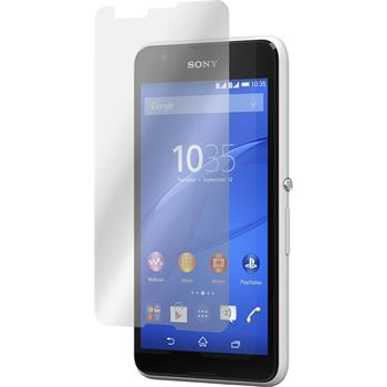 2 x Sony Xperia E4g Protection Film Clear