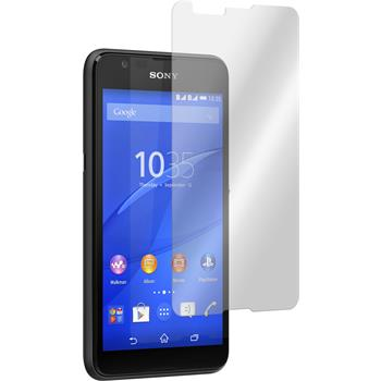 2 x Sony Xperia E4g Protection Film Tempered Glass Clear