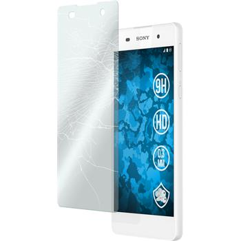 2 x Sony Xperia E5 Protection Film Tempered Glass clear