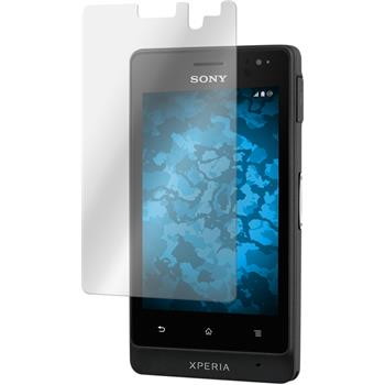 2 x Sony Xperia go Protection Film Clear