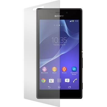 2 x Sony Xperia M2 Protection Film Tempered Glass Clear
