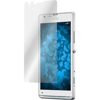2 x Sony Xperia SP Displayschutzfolie klar