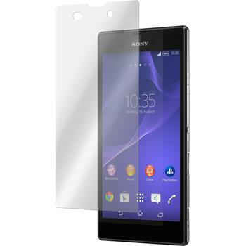 2 x Sony Xperia Style Protection Film Tempered Glass Clear