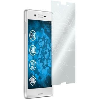 2 x Sony Xperia X Protection Film Tempered Glass clear