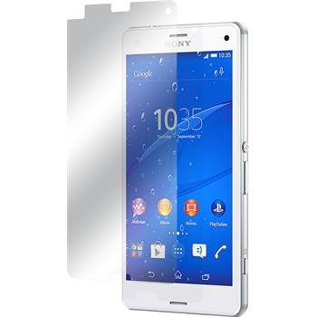 2 x Sony Xperia Z3 Compact Protection Film Clear