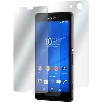 2 x Sony Xperia Z3 Compact Fullbody Protection Film Clear