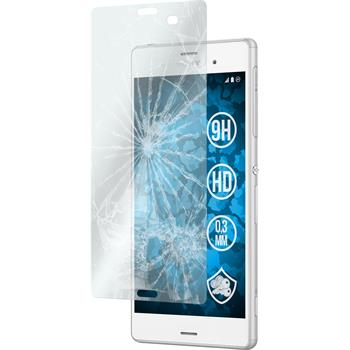 2 x Sony Xperia Z3 Protection Film Tempered Glass