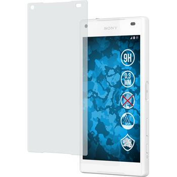 2 x Sony Xperia Z5 Compact Protection Film Tempered Glass Anti-Glare