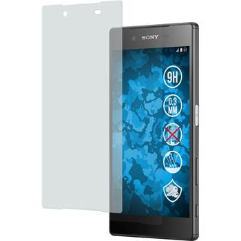 2 x Sony Xperia Z5 Glas-Displayschutzfolie matt