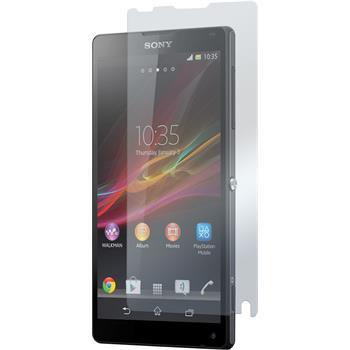 2 x Sony Xperia ZL Displayschutzfolie klar