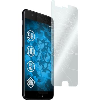 3 x OnePlus 5 Protection Film Tempered Glass clear