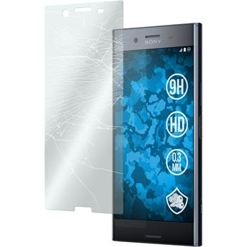 3 x Xperia XZ Premium Protection Film Tempered Glass clear