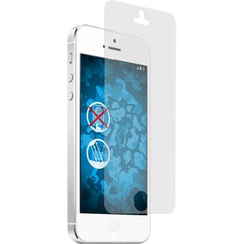 4 x iPhone 5 / 5s / SE Schutzfolie matt