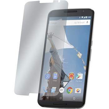 4 x Google Nexus 6 Displayschutzfolie klar