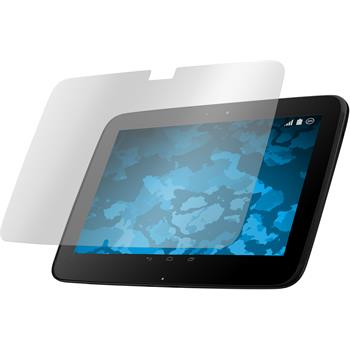 4 x Google Nexus 10 Displayschutzfolie klar