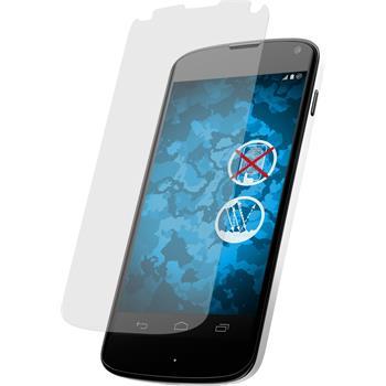 4 x Google Nexus 4 Displayschutzfolie matt